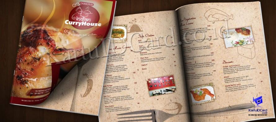 Buku Menu Restoran